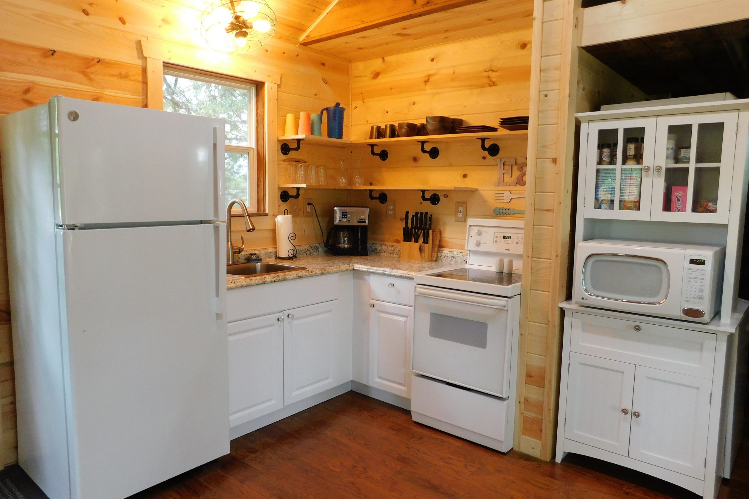 Refrigerator, Stove, Oven and Microwave