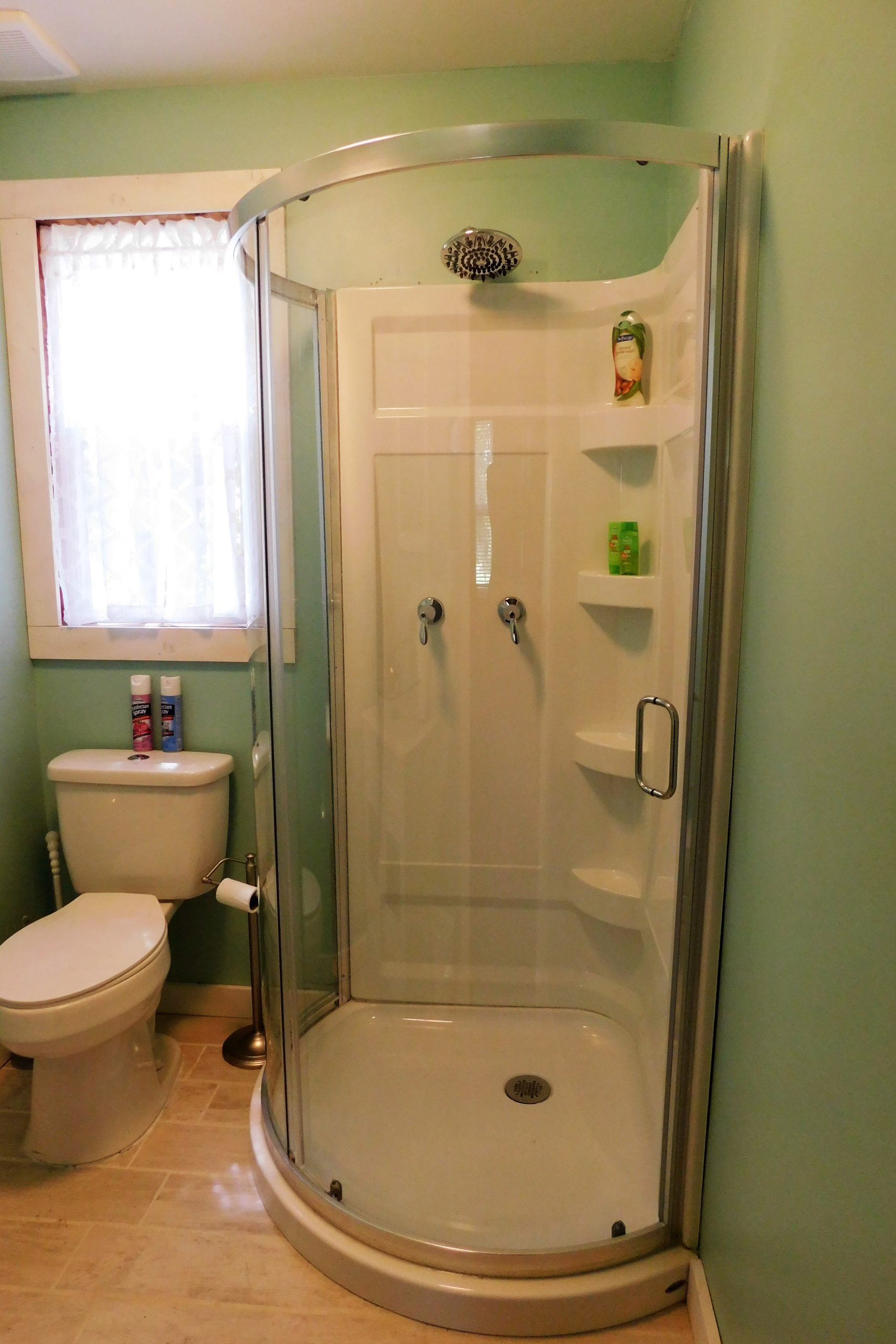 Half Bath with Towels Provided